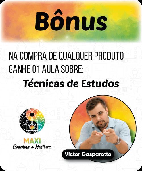 Aula Bônus para os alunos Maxi Educa