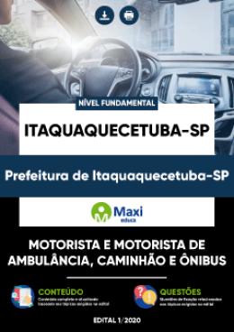 Motorista e Motorista de Ambulância, Caminhão e Ônibus