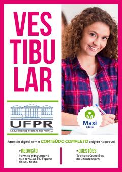 Apostila Digital Preparatória em PDF da Universidade Federal do Paraná - UFPR