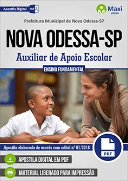 Auxiliar de Apoio Escolar