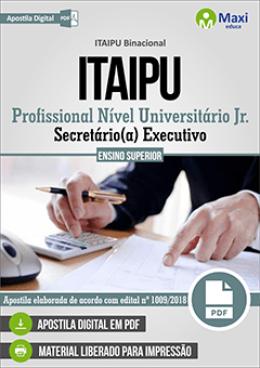 Profissional Nível Universitário Jr. - Secretário(a) Executivo