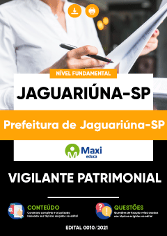 Apostila Digital em PDF da Prefeitura de Jaguariúna-SP