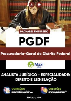 Apostila Digital em PDF da Procuradoria-Geral do Distrito Federal - PGDF