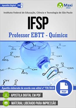 Professor EBTT - Química