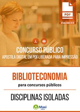 Biblioteconomia para Concursos Públicos