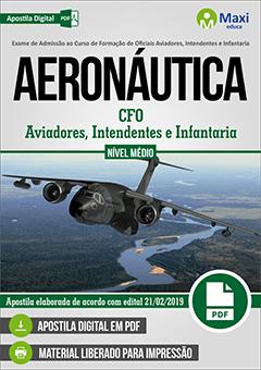 Apostila Digital em PDF do Exame de Admissão ao Curso de Formação de Oficiais Aviadores, Intendentes e Infantaria - AERONÁUTICA