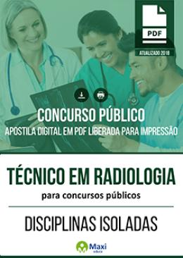 Técnico em Radiologia para Concursos Públicos