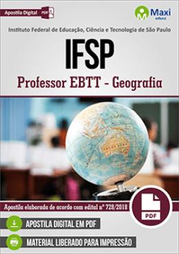 Professor EBTT - Geografia