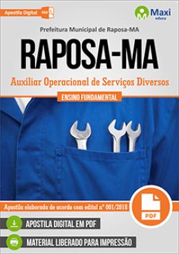 Auxiliar Operacional de Serviços Diversos