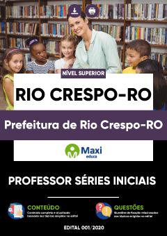Apostila Digital em PDF da Prefeitura de Rio Crespo-RO