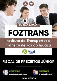 Apostila Digital em PDF do Instituto de Transportes e Trânsito de Foz do Iguaçu - FOZTRANS