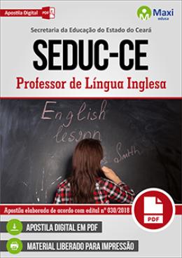 Professor de Língua Inglesa