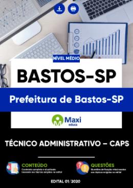 Técnico Administrativo – CAPS
