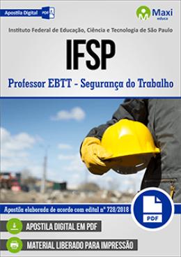 Professor EBTT - Segurança do Trabalho