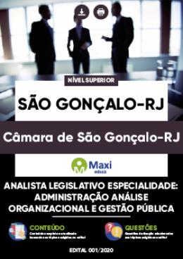 Analista Legislativo-Especialidade: Administração-Análise Organizacional e Gestão Pública