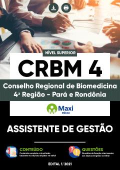 Apostila Digital em PDF do Conselho Regional de Biomedicina - 4ª Região - Pará e Rondônia - CRBM 4