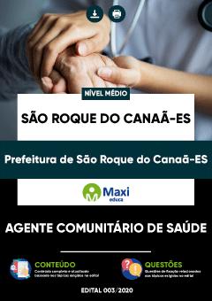 Apostila Digital em PDF da Prefeitura de São Roque do Canaã-ES