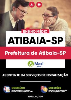 Apostila Digital em PDF da Prefeitura de Atibaia-SP