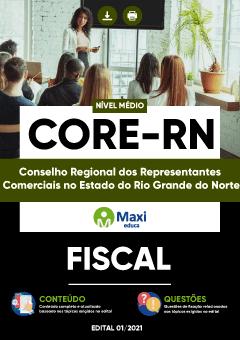 Apostila Digital em PDF do Conselho Regional dos Representantes Comerciais no Estado do Rio Grande do Norte - CORE-RN