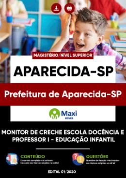 Monitor de Creche Escola Docência e Professor I - Educação Infantil