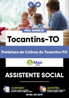 Apostila Digital em PDF da Prefeitura de Colinas do Tocantins-TO