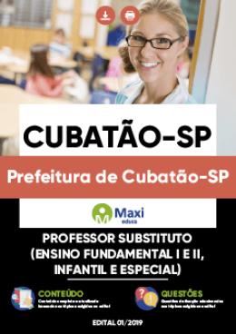 Professor Substituto (Ensino Fundamental I e II, Infantil e Especial)