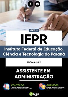 Apostila Digital em PDF da Instituto Federal de Educação, Ciência e Tecnologia do Paraná - IFPR
