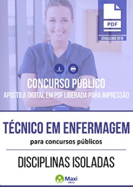 Técnico em Enfermagem para Concursos Públicos