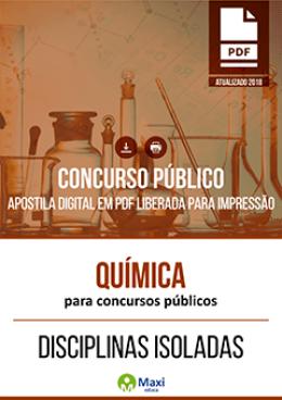 Química para Concursos Públicos