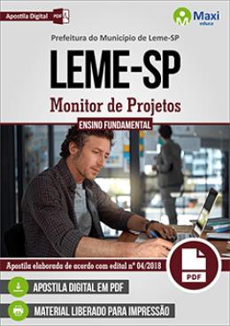Monitor de Projetos