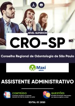 Apostila Digital em PDF do Conselho Regional de Odontologia de São Paulo - CRO-SP