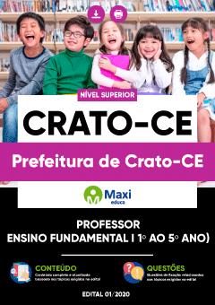 Apostila Digital em PDF da Prefeitura de Crato-CE