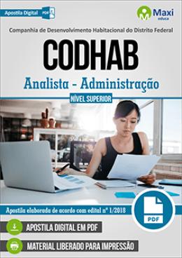 Analista - Administração