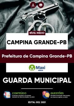 Apostila Digital em PDF da Prefeitura de Campina Grande-PB