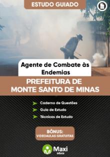 Concurso da Prefeitura de Monte Santo de Minas-MG