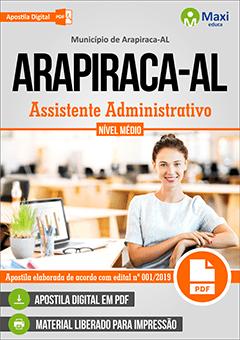 Apostila Digital em PDF do Município de Arapiraca-AL