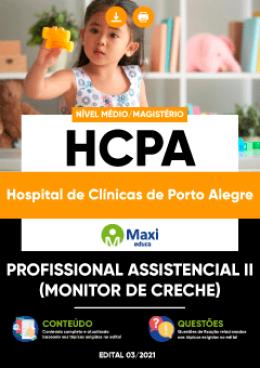 Profissional Assistencial II (Monitor de Creche)
