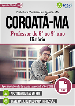 Professor de 6º ao 9º ano - História