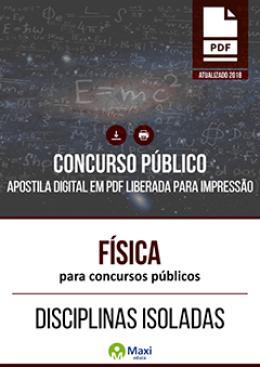 Física para Concursos Públicos