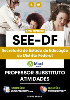 Apostila Digital em PDF da Secretaria de Estado de Educação do Distrito Federal - SEE-DF