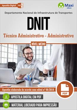 Técnico Administrativo - Administrativa