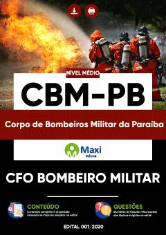 Apostila Digital em PDF do Corpo de Bombeiros Militar da Paraíba - CBM-PB