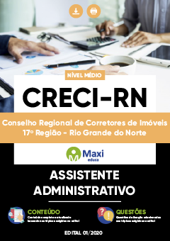 Apostila Digital em PDF do Conselho Regional de Corretores de Imóveis 17º Região - Rio Grande do Norte - CRECI-RN