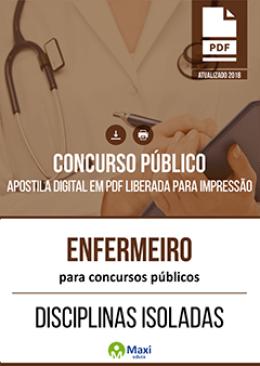 Enfermeiro para Concursos Públicos