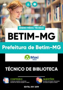 Apostila Digital em PDF da Prefeitura de Betim-MG