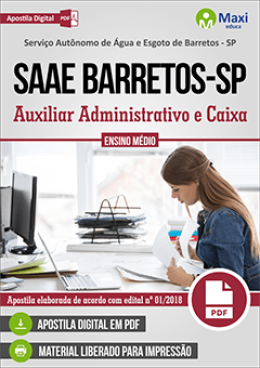 Auxiliar Administrativo e Caixa