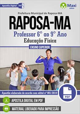 Professor 6° ao 9° Ano - Educação Física