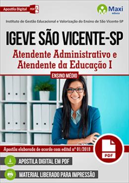 Atendente Administrativo e Atendente da Educação I