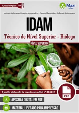 Técnico de Nível Superior - Biólogo