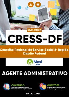 Apostila Digital em PDF da Conselho Regional de Serviço Social 8ª Região - Distrito Federal - CRESS-DF